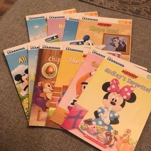 Disney Learning Books 10 Books